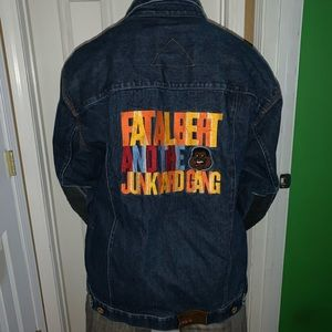 Fat albert and the junkyard gang FUBU jeans jacket